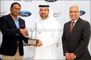 Al Tayer Motors is First Regional Dealer to Win Ford's The Chairman's Award for 2015