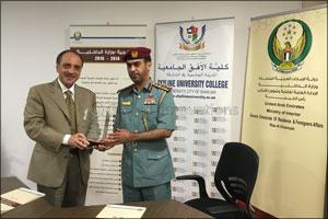 Skyline University College (SUC) Signed an MOU with Ras Al Khaimah Police
