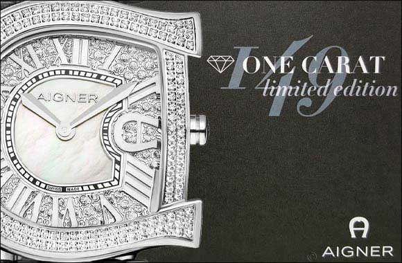 AIGNER ONE CARAT Limited Edition Diamond Collection available at Paris Gallery