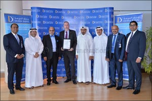 Doha Bank is the first bank in Qatar to achieve accredited certification for ISO