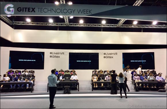 Samsung and Dubai World Trade Center Host the Largest VR Theatre Experience in the Middle East at GITEX Technology Week