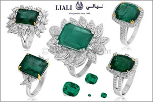 Emerald rings from Liali
