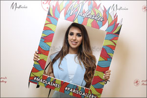 MadLashes Launches at Paris Gallery