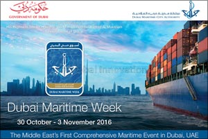Sultan bin Sulayem: Dubai Maritime Week 2016 reinforces Dubai's aspirations to be a leading global m ...