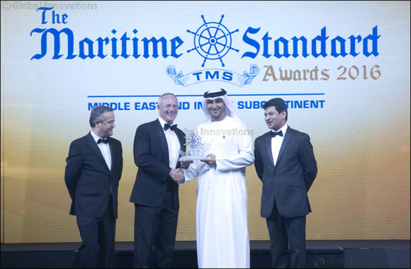 Abu Dhabi Ports scoops three awards at the 2016 Maritime Standard Awards
