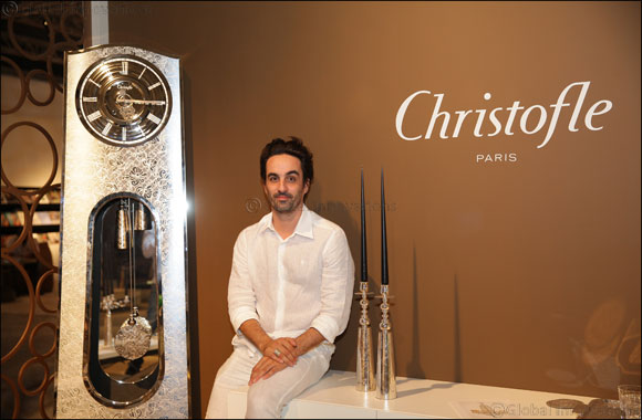 State-of-the-art clock for Christofle!
