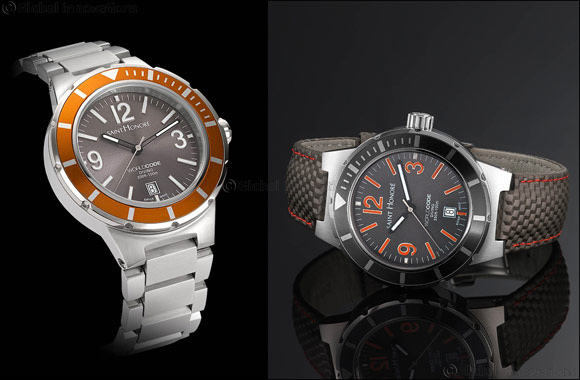 SAINT HONORE:  Brilliant new colours mark the new Worldcode 'Diving' watch