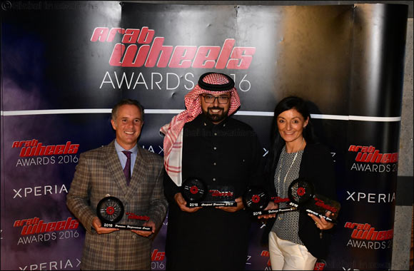 Jaguar Land Rover Scoops Four Top Accolades at ArabWheels Awards 2016