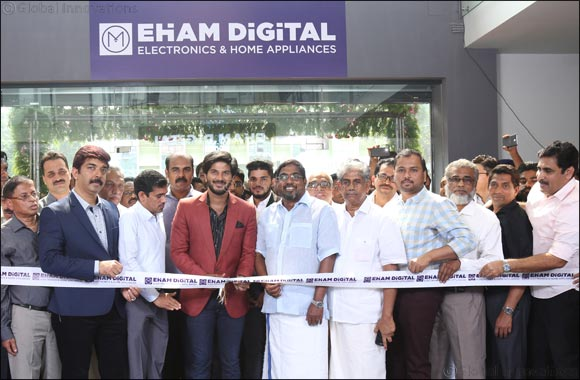 Film Star Dulquer Salman Inaugurates Eham Digital - largest Home Appliances & Electronics showroom