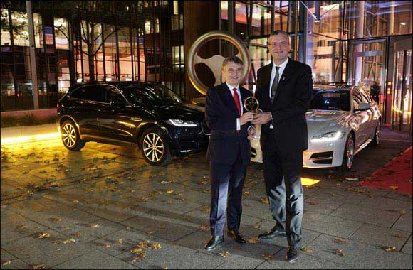 Jaguar XF Wins Golden Steering Wheel Award For Best Saloon Car