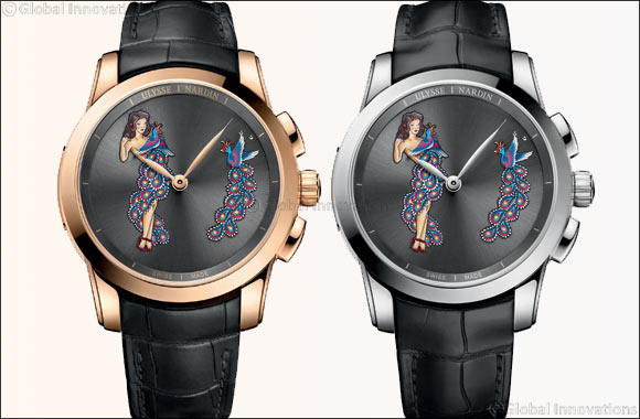 Celebrated Manufacture Ulysse Nardin Seduces Collectors with a Limited Edition Hourstriker Pin-Up