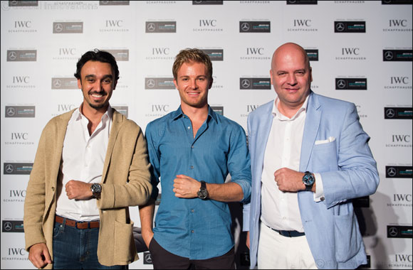 IWC Schaffhausen hosts exclusive talk session with Nico Rosberg