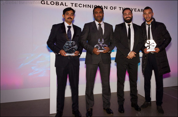 Jaguar Land Rover MENA Scoops Up Top Accolades at the Global Technician of the Year 2016 Awards Held in UK