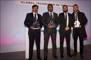 Jaguar Land Rover MENA Scoops Up Top Accolades at the Global Technician of the Year 2016 Awards Held ...