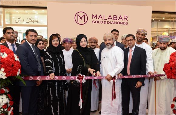 Malabar Gold & Diamonds' opened its 157th outlet globally in Muscat, Sultanate of Oman