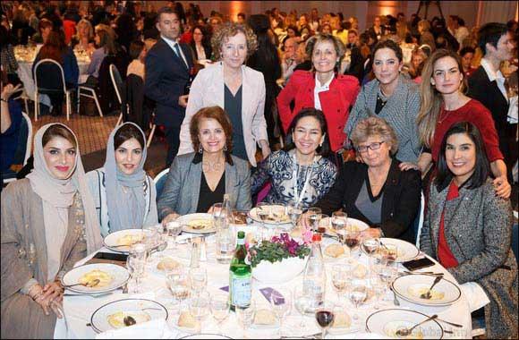 Dubai Women Establishment delegation participates in Women's Forum Global Meeting 2016 in France