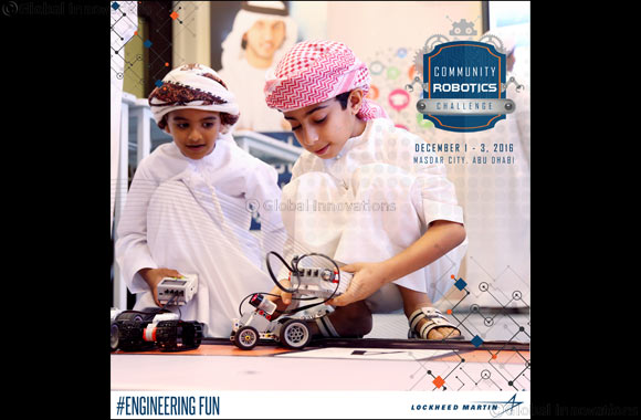 Emirati Student Wins National Day Weekend Community Robotics Challenge Hosted by Lockheed Martin
