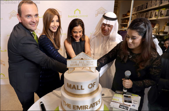 All New Home Centre Launched at Mall of the Emirates with a Spectacular Performance by Nancy Ajram