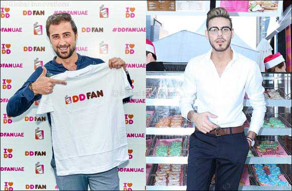 "Abdelkarim Hamdan, star of ""Arab Idol"" and Omar Dean, star of ""X Factor Australia"" & ""The Voice"" announced as brand ambassadors for Dunkin' Donuts DD Fan campaign"