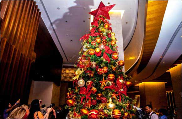 Al Ghurair Rayhaan and Al Ghurair Arjaan by Rotana Christmas Tree Lighting Ceremony