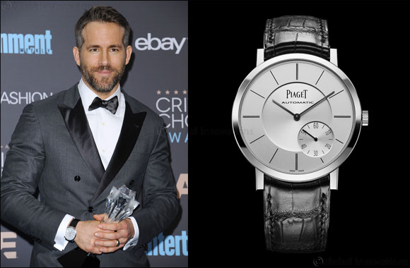 Piaget Altiplano is the watch of choice for the Critics' Choice Awards