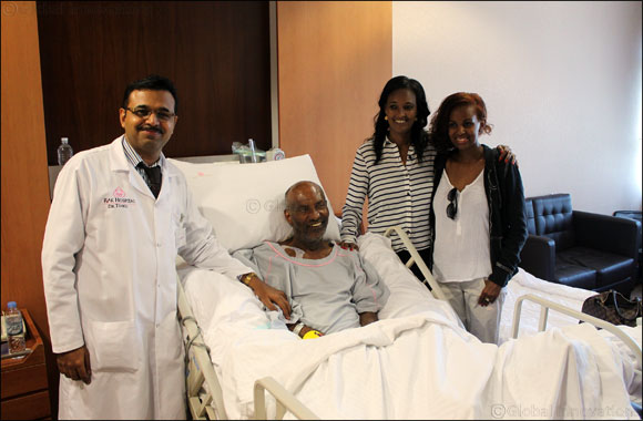 Former Ethiopian ambassador gets a new life at RAK Hospital