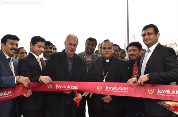 Joyalukkas opened 2nd Showroom in USA at Edison, New Jersey