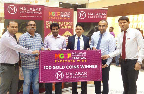 Customers Continue to Win at the Malabar Gold & Diamonds Festival