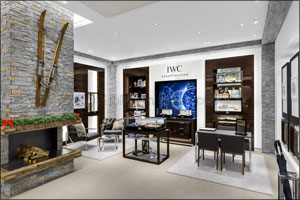 IWC opens new boutique in St. Moritz