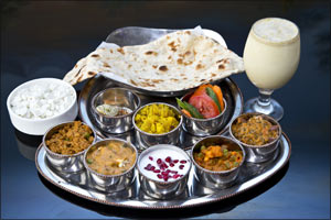 Recharge and refuel your body at Lunchtime with a wholesome Thali from Govinda's