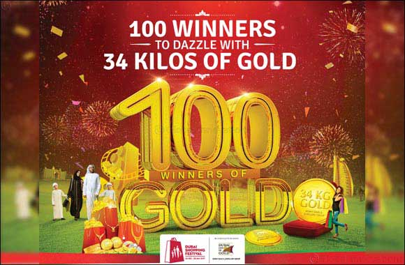 '100 Winners to dazzle with 34 Kilos of Gold' this DSF along with Malabar Gold & Diamonds