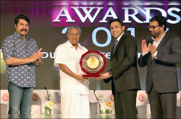 Joyalukkas Group Executive Director John Paul Alukkas lauded Young NRI Entrepreneur of the Year at Kairali TV Awards 2016