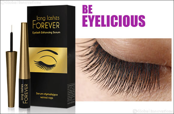 Long Lashes Forever - European Beauty Brand unveils their Revolutionary Eyelash Enhancing Serum in the UAE