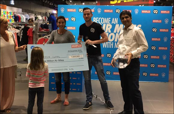 Air Miles Millionaire Winners Announced by Modell's Sporting Goods