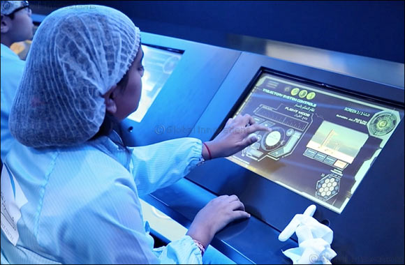 MBRSC opens the space centre at KidZania