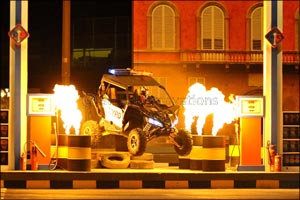 World-Class Stunt Show �Speed� Chase� Action!� to Thrill Dubai at Global Village This Season