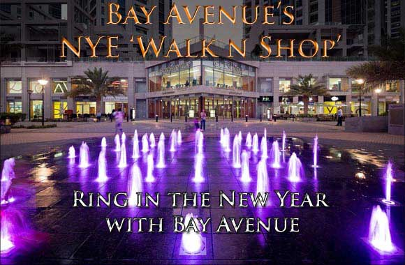 Bay Avenue's NYE 'Walk n Shop' - Ring in the New Year with Bay Avenue