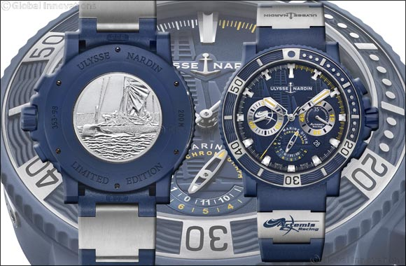 Ulysse Nardin Presents the Limited Edition Diver Chronograph Artemis Racing