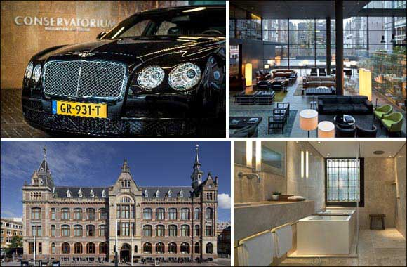 Bentley's 'Digital Experience' in The Conservatorium Hotel, Amsterdam