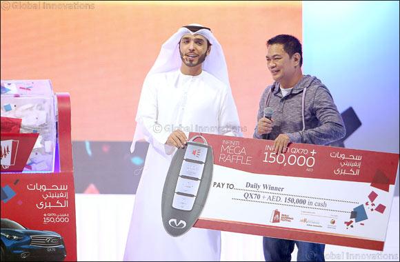Filipino Salesman Loses Job, Then Goes on to Win an Infiniti Car in DSF Mega Raffle!
