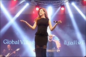 Superstar Nancy Ajram's Concert a Huge Hit at Global Village