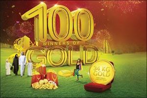 Dubai Gold & Jewellery Group 28th & 29th December DSF Raffle Draw Winners