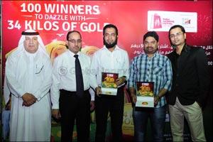 Dubai Gold & Jewellery Group 30th & 31st December DSF Raffle Draw Winners