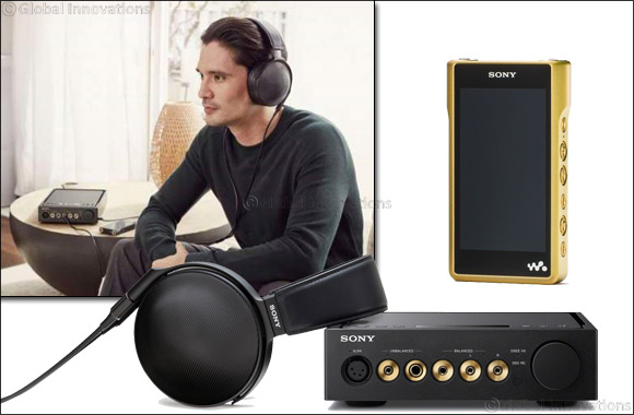 Sony delivers High-Resolution Audio with Signature Series product range