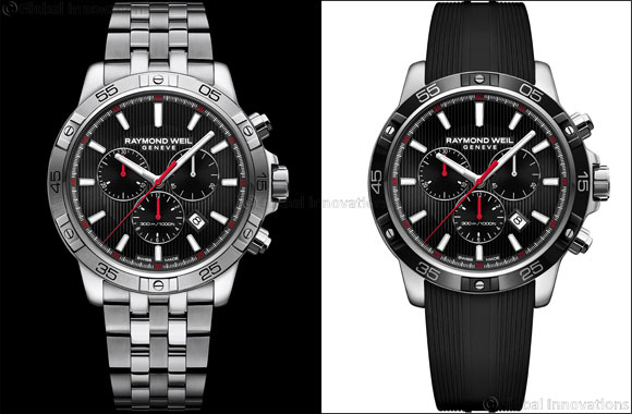 RAYMOND WEIL introduces tango 300 - a progressive new chronograph