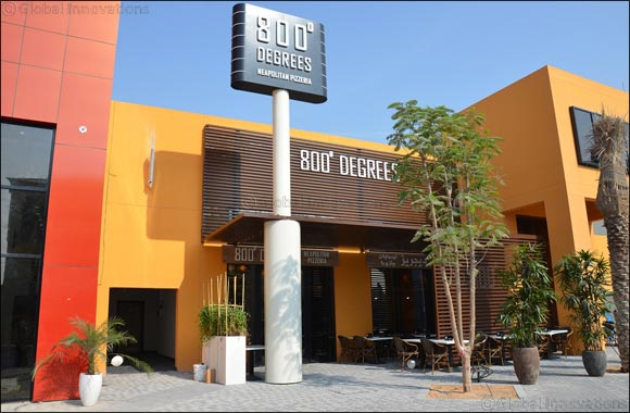 800 DEGREES NEAPOLITAN PIZZERIA now opens its sixth outlet in RiverlandTM Dubai - Dubai Parks and Resorts