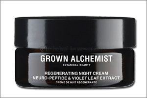 Maintain a youthful and natural glow with Grown Alchemist's Regenerating Night Cream