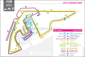 Challenge Yourself With a Triathlon in the New Year as Yas Marina Circuit Releases Course Maps for T ...