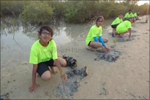 Green Hope's Visit to Sir Banyas Island