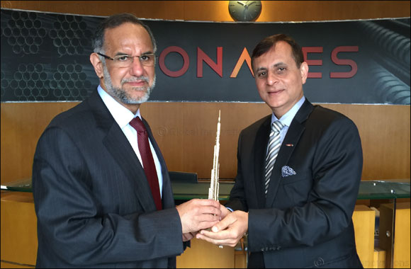 New Indian Ambassador visits Conares plant in JAFZA, Dubai